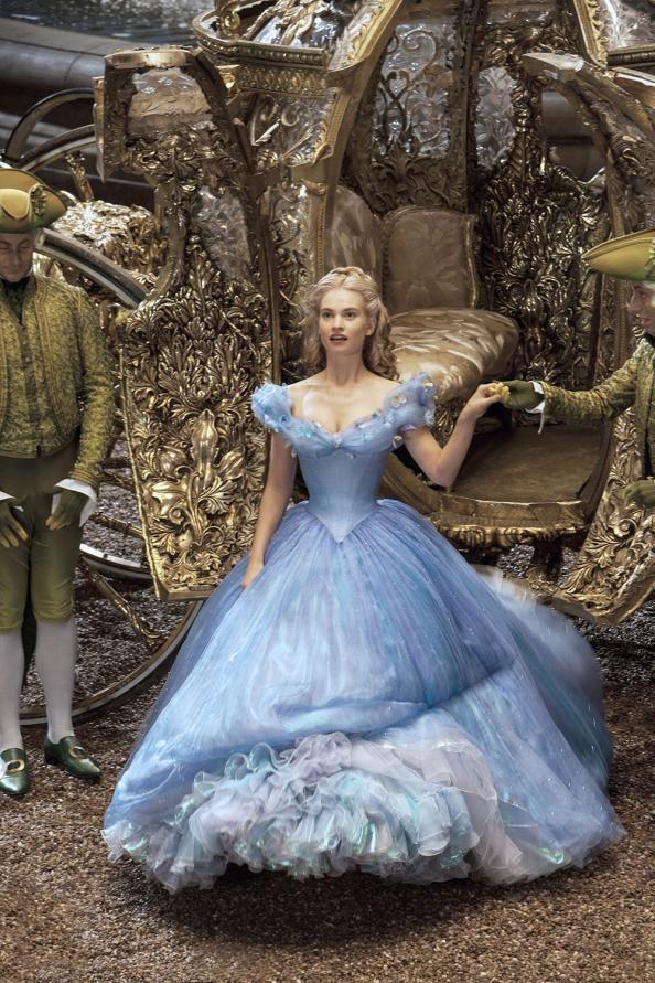 Cinderella's Costume Designer Spills the Secrets Behind Making This Fairytale a Reality #InStyle