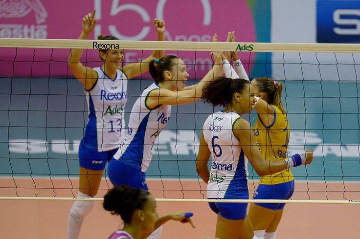 O Rio venceu o Osasco e garantiu vaga na final da Superliga Feminina (Foto: Divulgação)