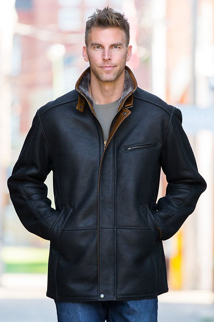 326 best Sheepskin Jacket images on Pinterest | Sheepskin jacket ...