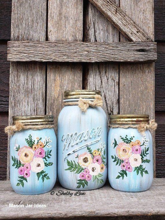 17 Creative Ways To Use Mason Jars In 2020 Mason Jar Crafts Diy Diy Jar Crafts Mason Jar Decorations