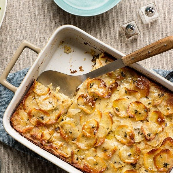 Inspired by the flavors of potato-leek soup, this kugel is creamy on the inside, crackly on the outside, and completely irresistible.