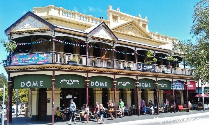 not so much outback, but Aussie pub all the same; Fremantle, Western Australia