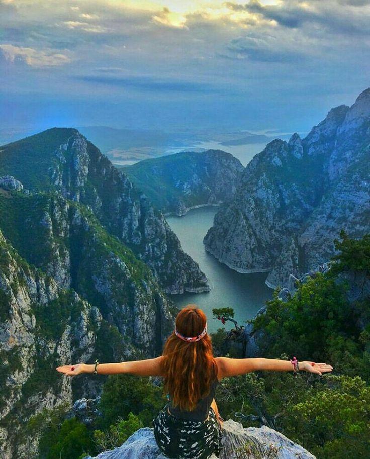 Şahinkaya canyon.. Vezirköprü.. Samsun.. Turkey