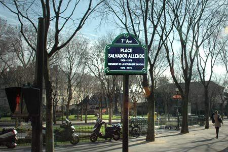 Salvador Allende, París