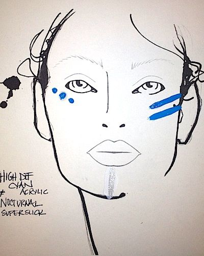 Makeup Trends 2013, 2014: 12 Best Music Festival-Inspired Beauty Looks: Bold, Colorful Lips, Cat Eyes, Blue EyeShadow