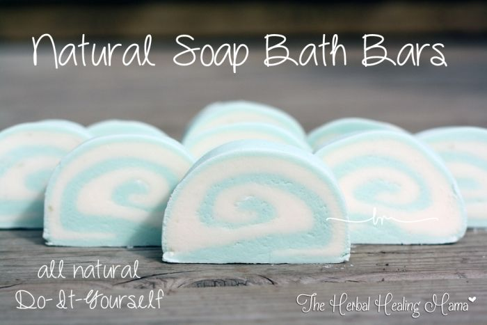 Natural Soap Bath Bars - DIY