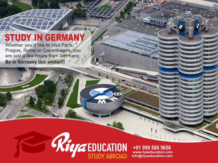 Abroad Education in Germany - Students who wish to study in Germany get in touch with Riya Education.   #eu #europe #higher education #bangalore #india #foreign #free #master #bachelor