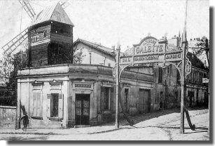 Moulin de la Galette - Les Cafés-Concerts à Paris dans les années1900
