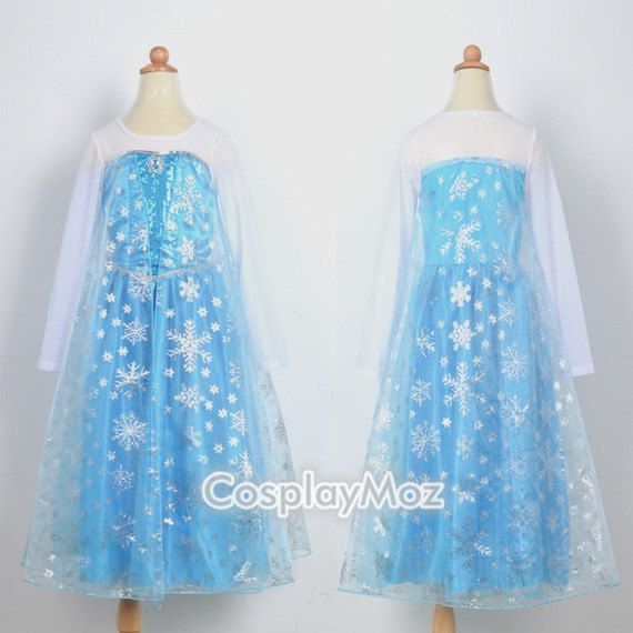 Elsa Costume Frozen Costume Size 2 3 4 5 6 7 8 10 12 Frozen Dress & The 21 best Things to Wear images on Pinterest | Cosplay costumes ...