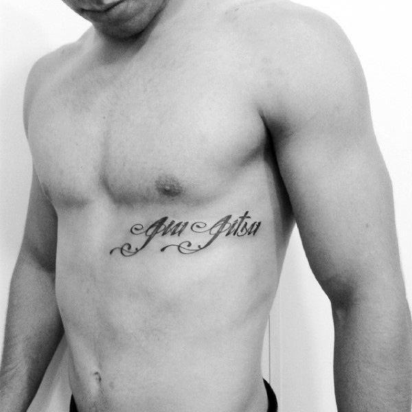 70 Jiu Jitsu Tattoos For Men Masculine Martial Art Design Ideas