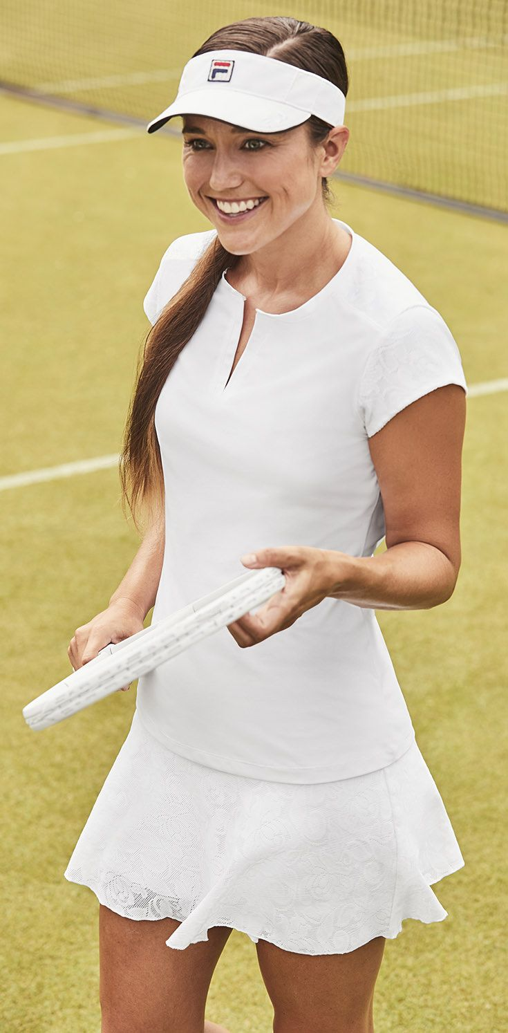 146516b82593d Fila introduces the newest The Championships Fila women's tennis apparel  collection for summer 2018. The