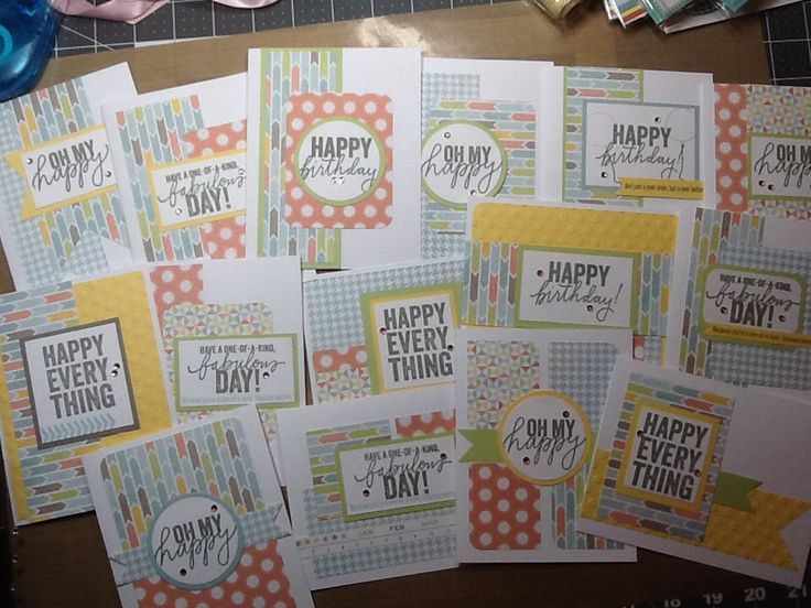 Card Making Ideas Close To My Heart Part - 47: Zoe Cards Designed By Jamie Holm #zoe #ctmh #happyeverything