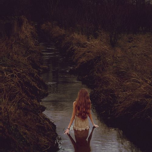 Woman in stream…  *Blog: ArousedWomanBlog.com *  *Twitter: AnArousedWoman *    Heavy water by *Nishe on Flickr.