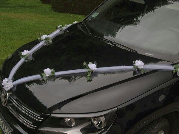 Auto versiering bruiloft