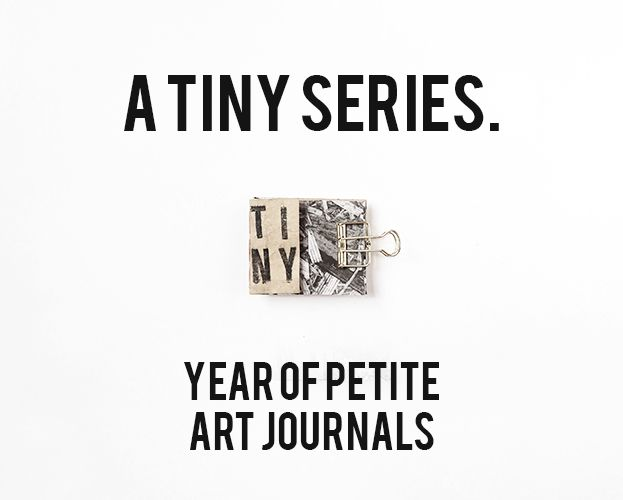 A Tiny Series // Year of Petite Art Journals by Torrie at FoxandHazel.com