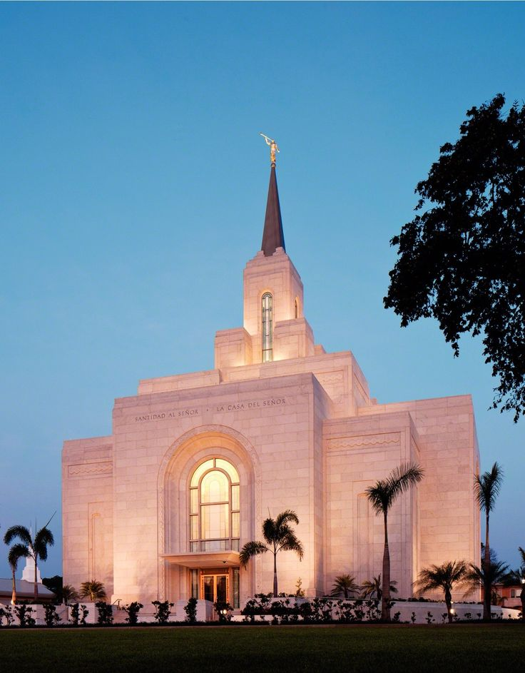 San Salvador El Salvador Temple - The Church of Jesus Christ of Latter-day Saints. #LDS #Mormons