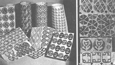sellos de papa en papel