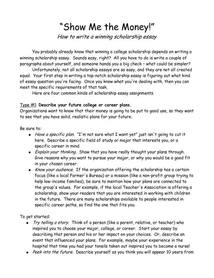 scholarship essay examples  business template  essay examples  scholarship essay examples