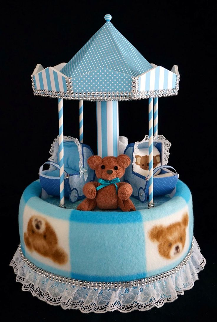 Carousel Cake Instructions