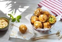 Polpette di zucchine, feta e menta // Zucchini, feta and mint balls