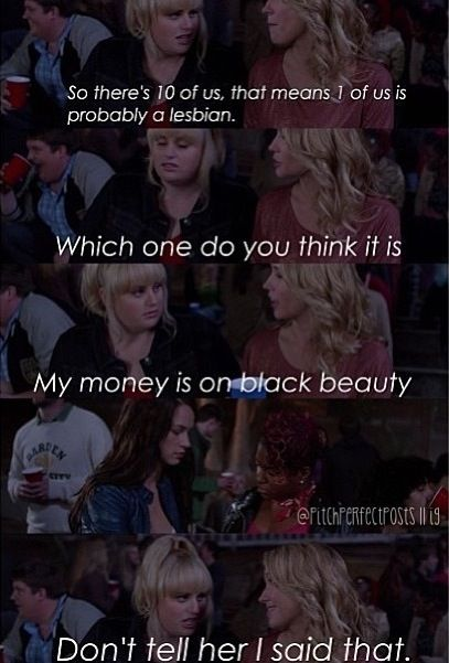 Hilarious Quotes From Pitch Perfect 162 best images...