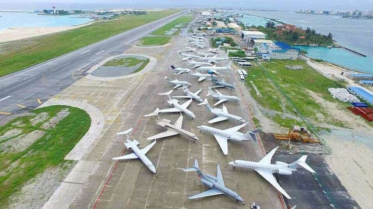 With #festive season and coming of New Year 2017 #Maldives #Airport is getting busier and busier!