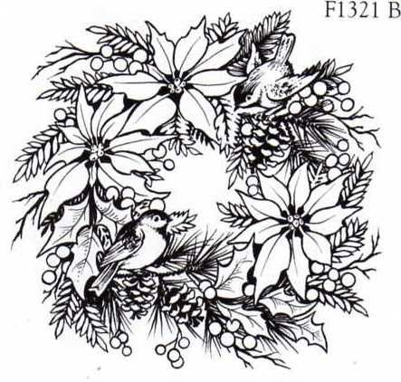 poinsettia coloring pages for adults - photo#5