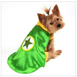 Dog Costume - Superhero Green Cape