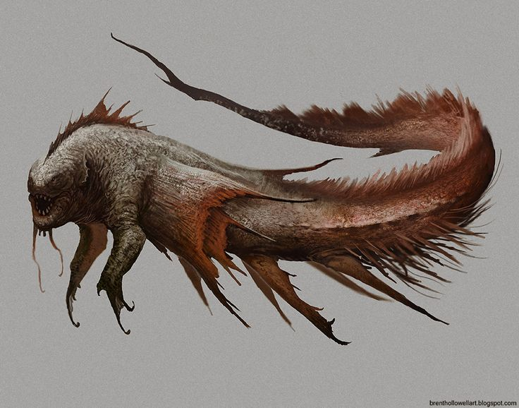 Creature Concept, Brent Hollowell on ArtStation at…