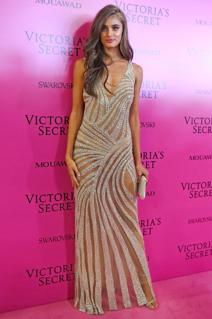 See the Hottest Looks from the 2017 Victoria's Secret Fashion Show After-Party - Taylor Hill from InStyle.com