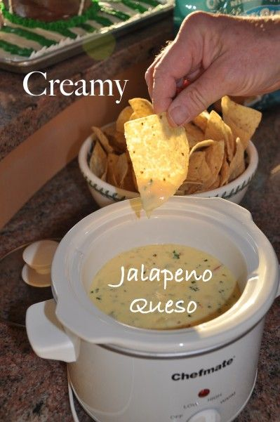 Homemade Queso with a Kick