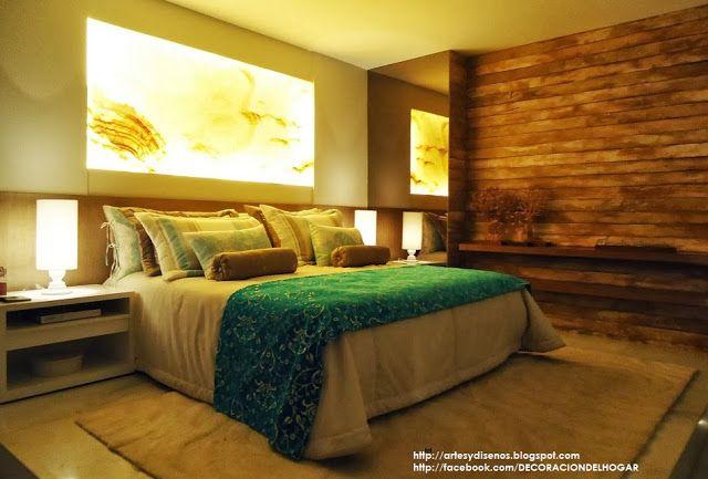 ¿Cómo Decorar Dormitorios Matrimoniales Principales? - Double Bedrooms by artesydisenos.blogspot.com