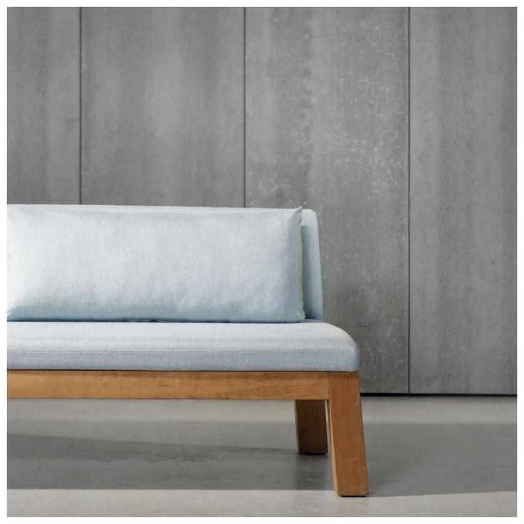 Beton behang kan net dat rauwe randje aan je interieur geven met het #Concrete #Behang van Piet Boon | MisterDesign