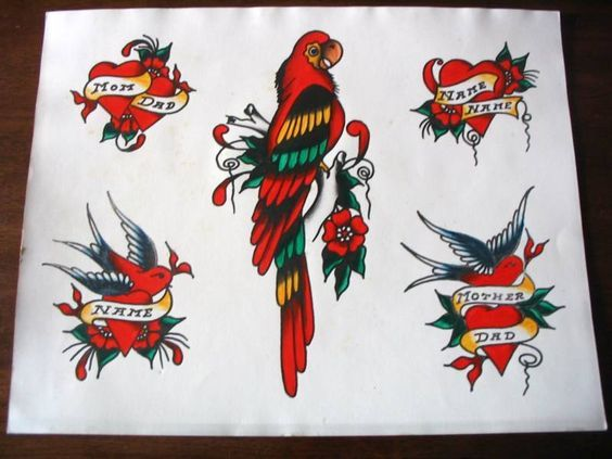37 Best Sailor Jerry Hula Girl Tattoo Designs Images On