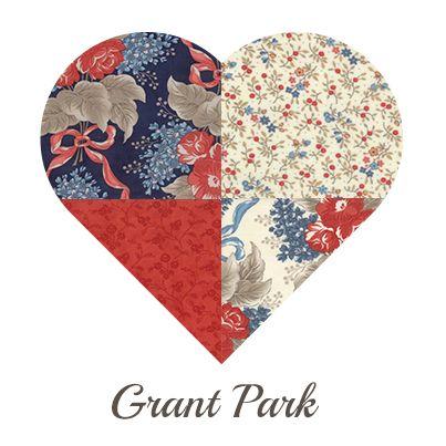 Yosonline Quiltstoffen / Quilt Fabrics - Grant Park