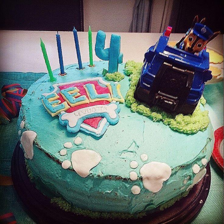 Paw Patrol birthdaycake
