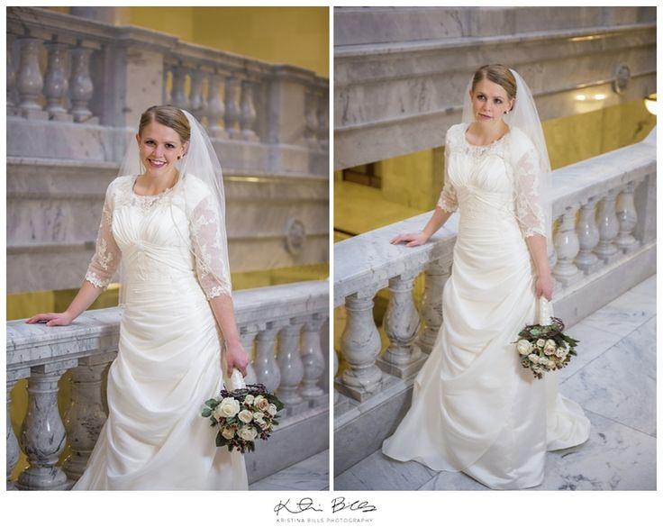 Mejores 327 imágenes de Modest Wedding Gowns III en Pinterest | Utah ...