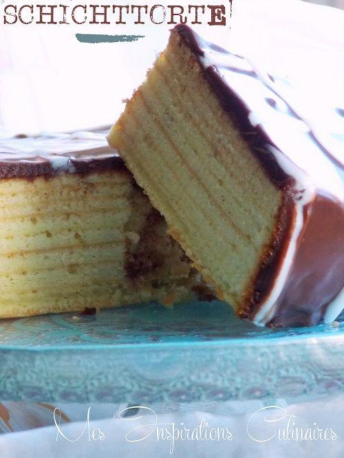 Schichttorte - gâteau allemand à étages