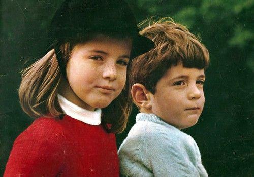Two of a Kind. John and Caroline Kennedy.
