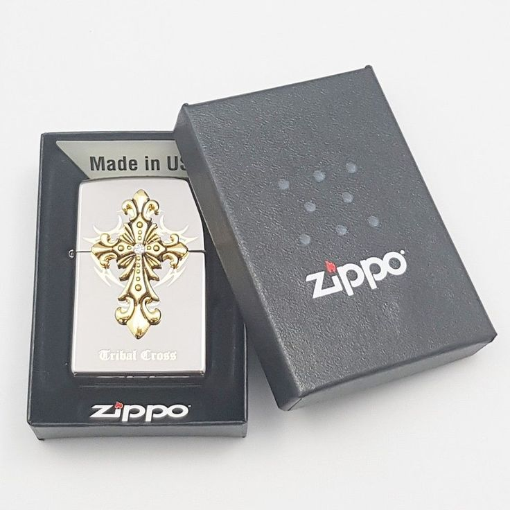 Zippo Original Lighter Pray Emblem BK Authentic Made in USA Free Gift 6Flints  #Zippo