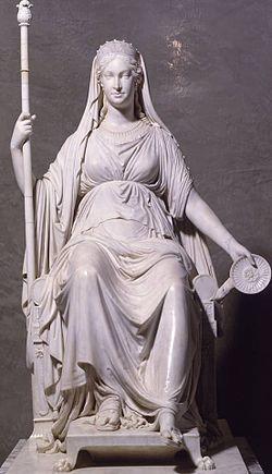 Ritratto di Maria Luigia d'Austria in veste di Concordia, 1811-1814, marmo, Galleria Nazionale, Parma