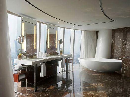 hbas kathleen dauber discusses trends in luxury hotel bathroom design in departures magazines latest article - Hotel Bathroom Design