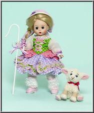 """Bo beep ~ 8 """"poupée avec des moutons par Madame Alexander!!!"""