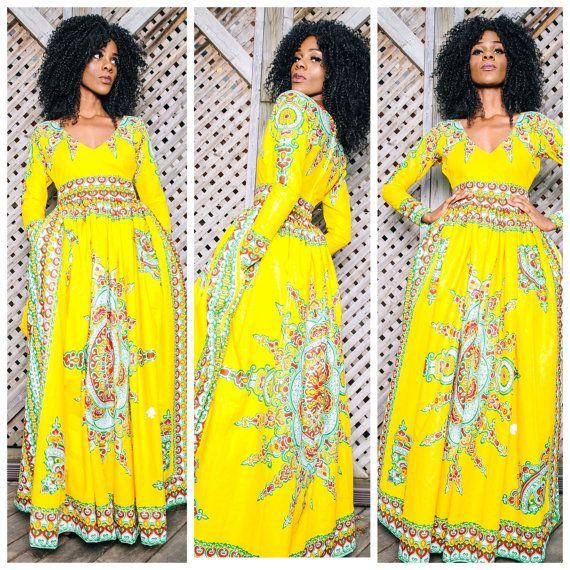 VICTORIA African print dress by ofuure on Etsy ~ African fashion, Ankara, kitenge, Kente, African prints, Braids, Asoebi, Gele, Nigerian wedding, Ghanaian fashion, African wedding ~DKK