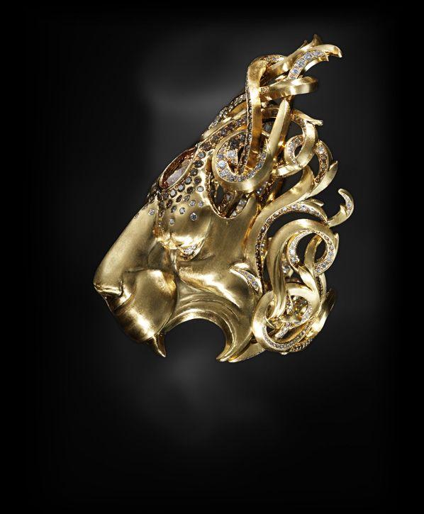 Lion Concept Zbrush - Vivienne Becker
