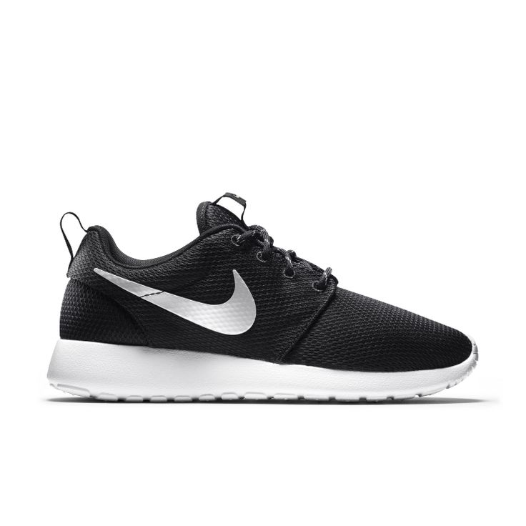 Nike Roshe One - SUPERIOR VENTILATION AND CUSHIONING Ultra-lightweight and breathable, the Nike Roshe One Women's Shoe features a full mesh upper and EVA foam outsole. The shoe is intended to be versatile, worn with or without socks, dressed up or down, for walking or just taking it easy. Benefits  Full mesh upper for excellent breathability Full-length Phylon midsole for lightweight cushioning Solarsoft sockliner for premium comfort Cushioned collar for protection around ankle Waffl...