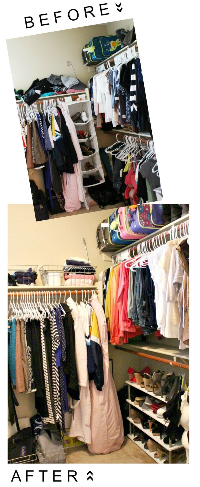 166 Best Chic Organised Closets Walk Ins Images On