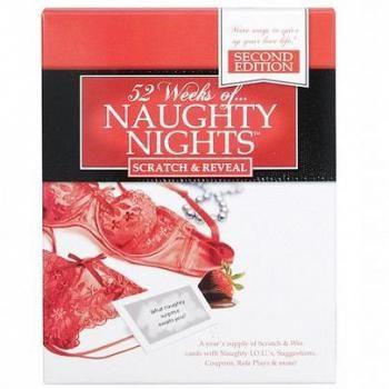 www.presentjakt.se: 52 skrapkort med sensuella uppgifter och busiga överraskningar. Ett perfekt sätt att få romantiken att spraka.