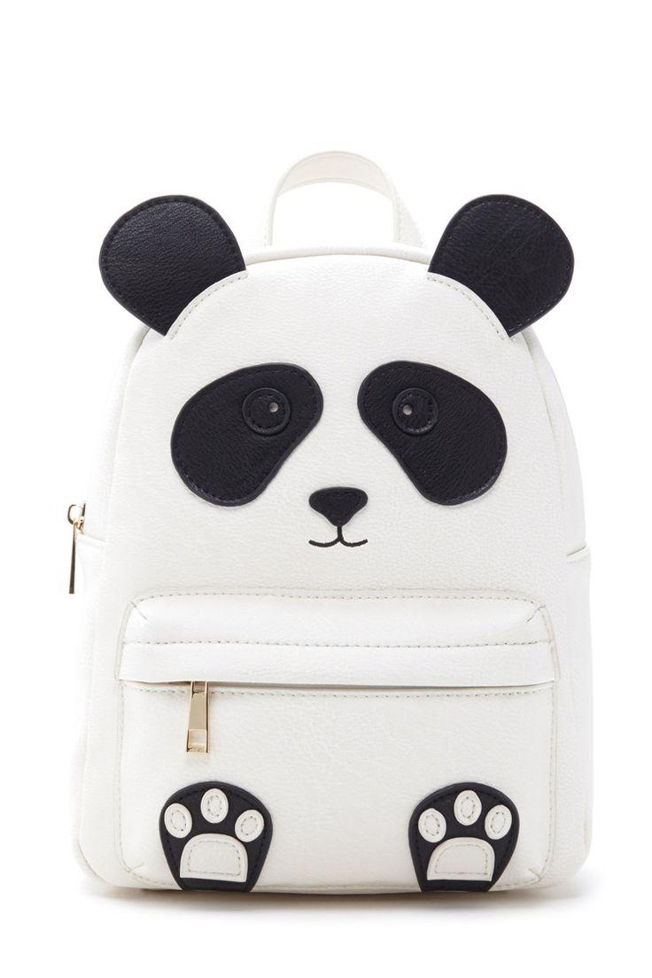 justice sparkly panda backpack sante blog. Black Bedroom Furniture Sets. Home Design Ideas