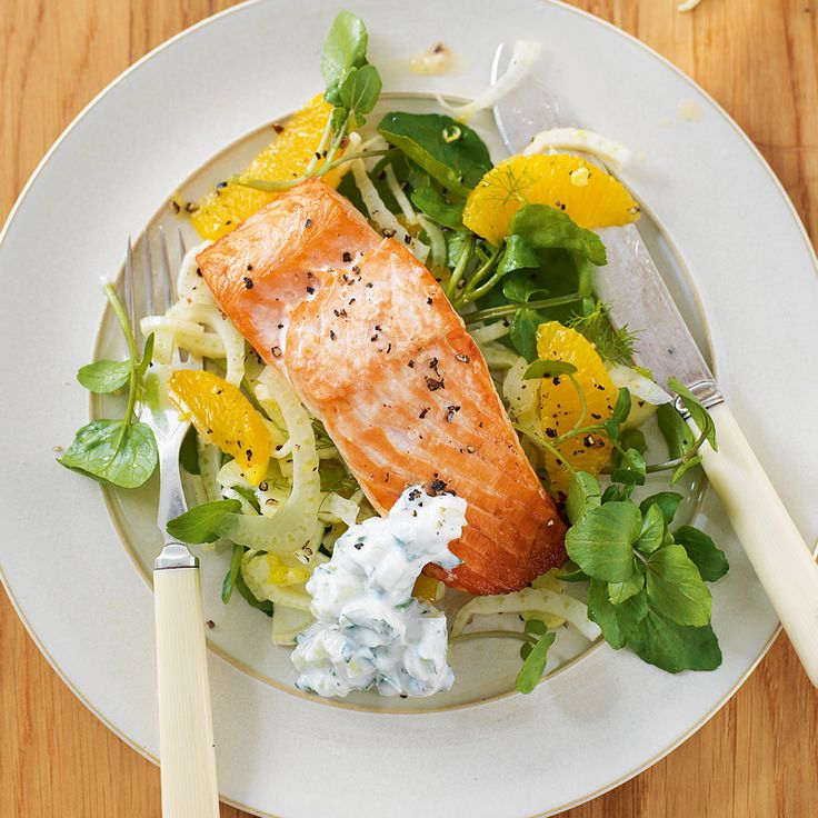 The 25 best weight watchers salmon ideas on pinterest weight no count salmon salad with cucumber sauce recipe weight watchers uk ccuart Images